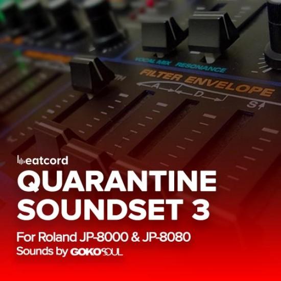 Roland Quarantine Soundset 3 for JP-8000/JP-8080