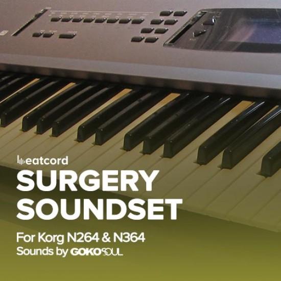 Korg N264/N364 Surgery Soundset